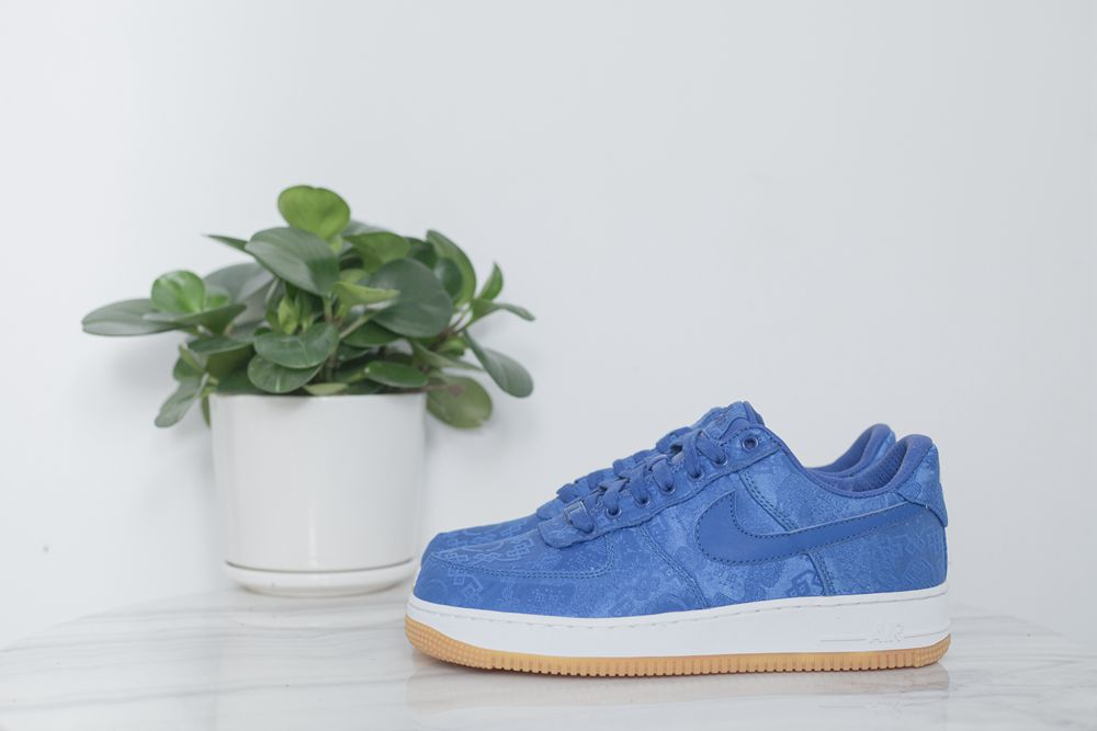 Clot x Air Force 1 PRM 'Royal Silk'