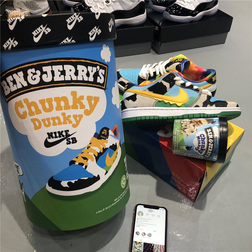 Special box Ben & Jerry's(shipped via EMS)