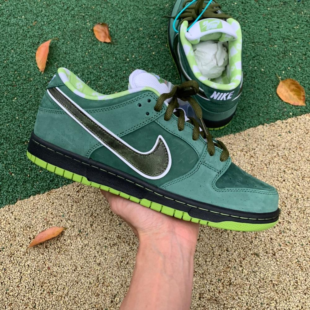 SB Dunk Low x Concepts Green Lobster