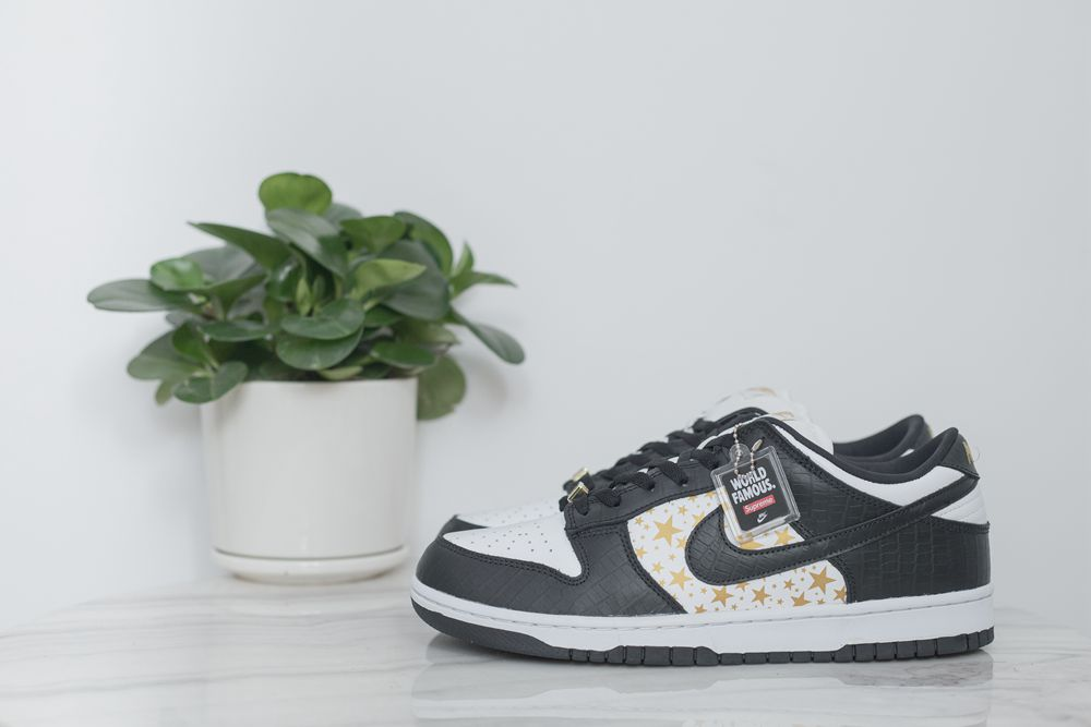 Supreme x SB Dunk Low Black