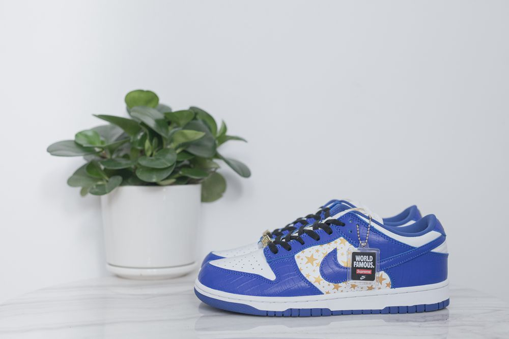 Supreme x SB Dunk Low Blue