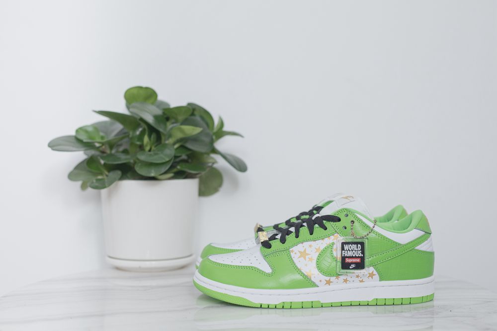 Supreme x SB Dunk Low Green