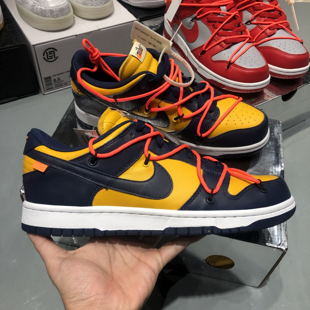 OW DUNK LOW YELLOW