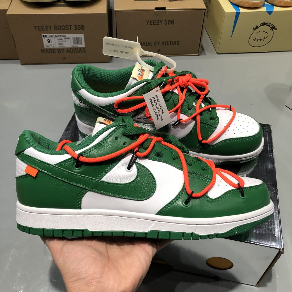 OW DUNK LOW GREEN