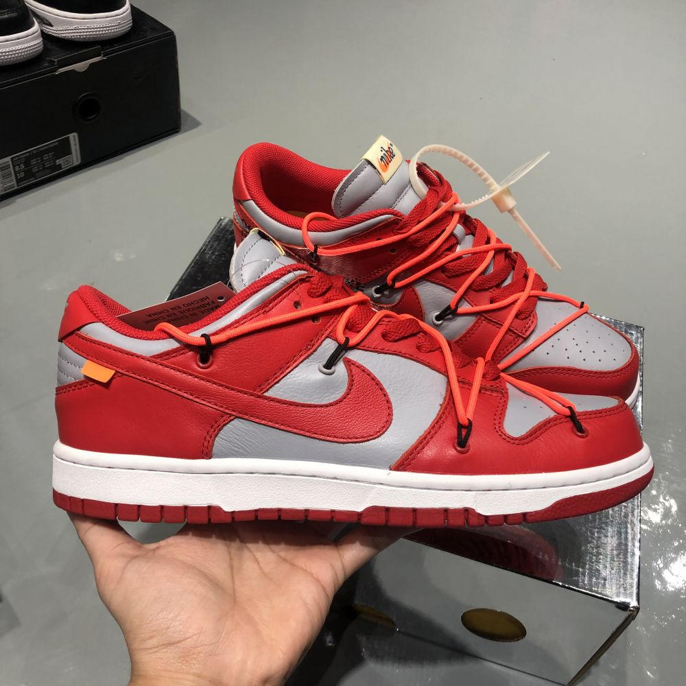 OW DUNK LOW RED