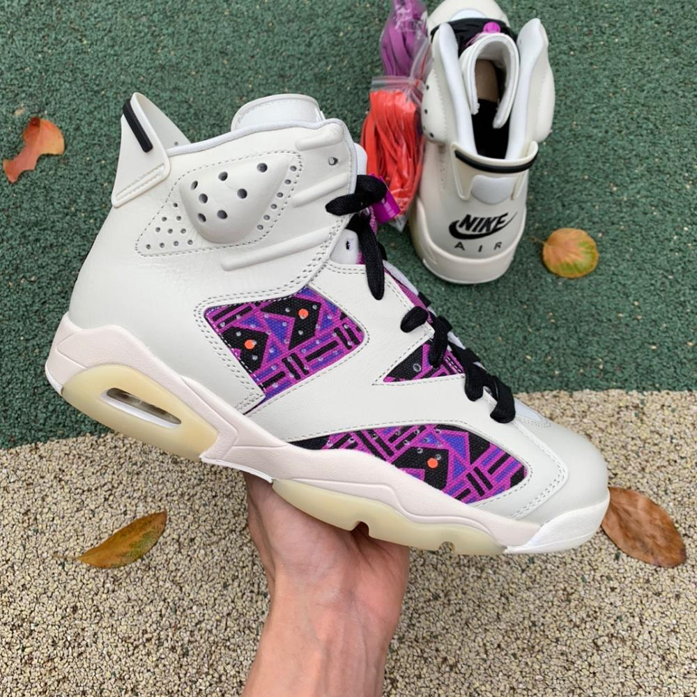 Air Jordan 6 Retro 'Quai 54 - Purple'