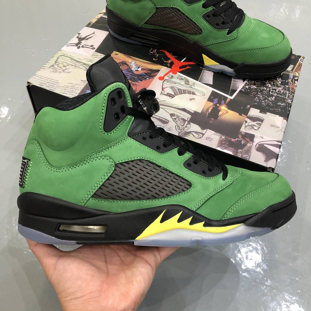 "Air Jordan 5 ""Oregon"""