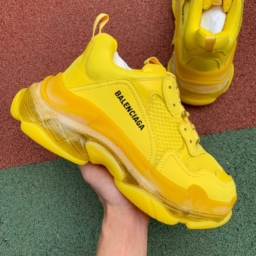 BALENCIAGA triple s 19SS yellow